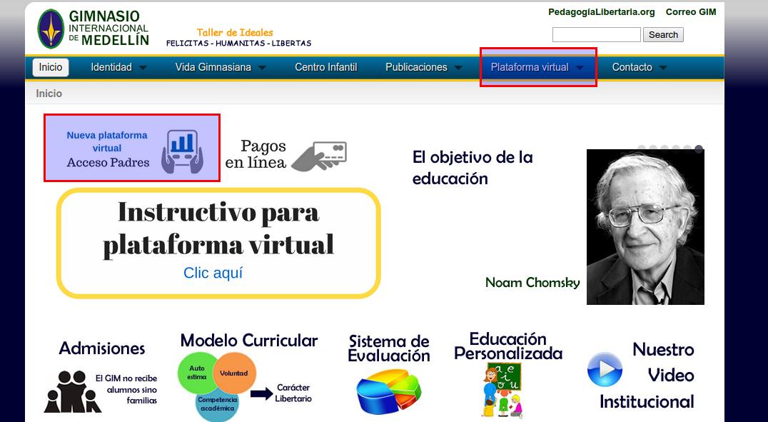 Instructivo plataforma Virtual
